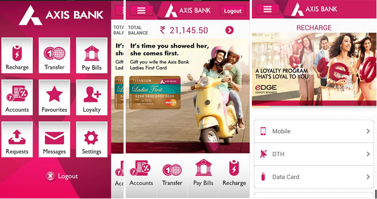 axis bank android application2