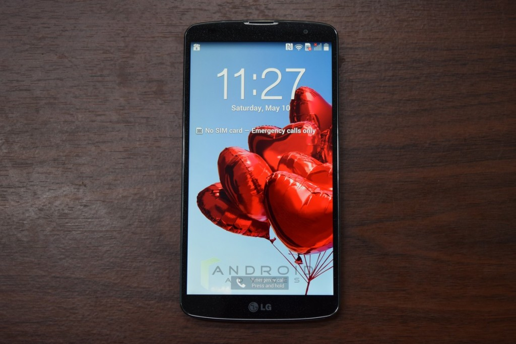 LG G Pro 2 Photo Screen
