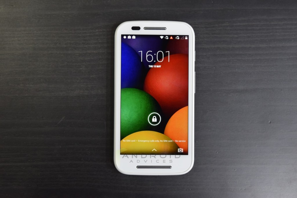 Motorola Moto E Photo Front