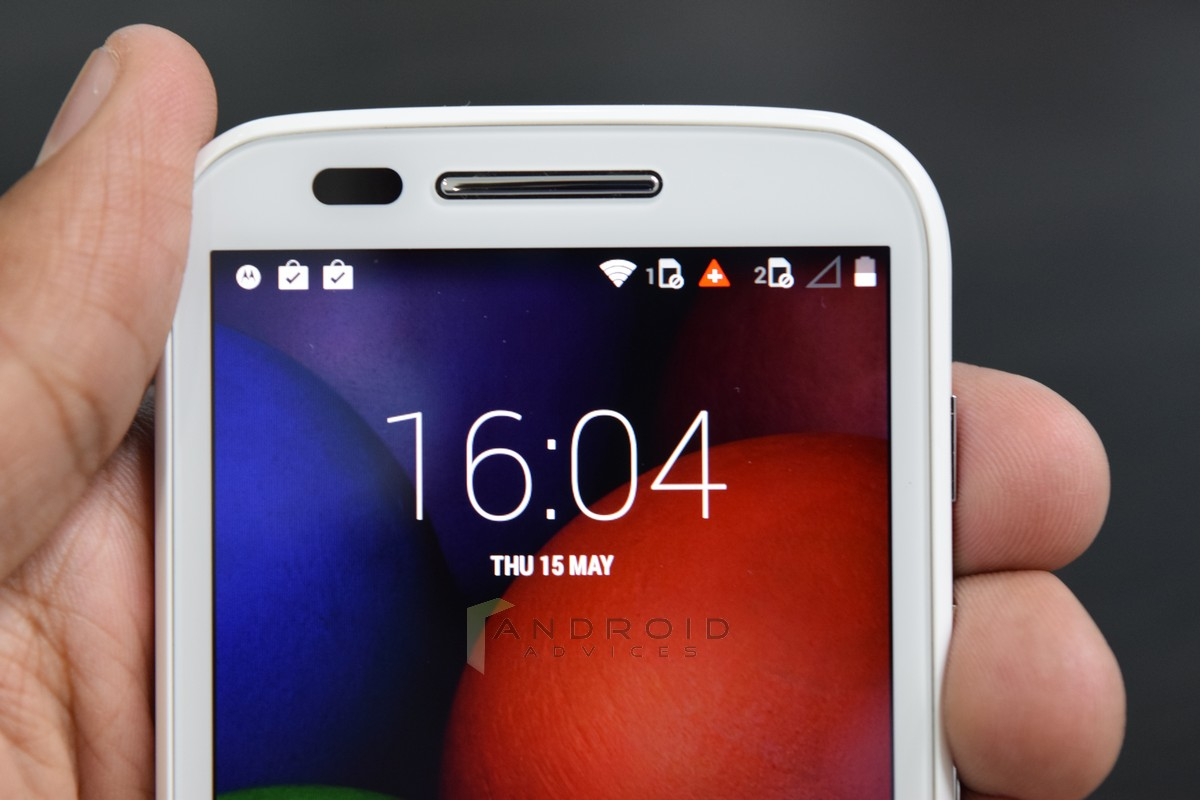 Motorola Moto E Photo Front Top