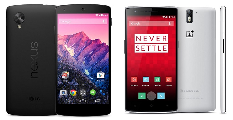 Nexus 5 vs OnePlus One