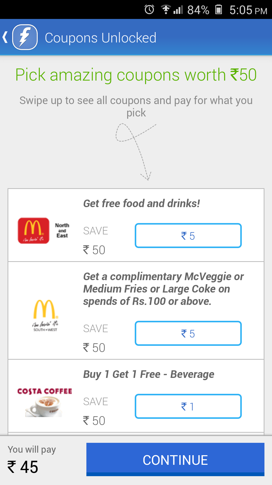FreeCharge Android App – Recharge your Mobile, DTH and Pay