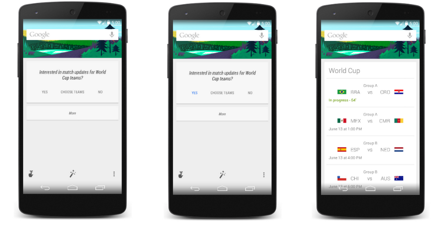 Android 5.0 hinted