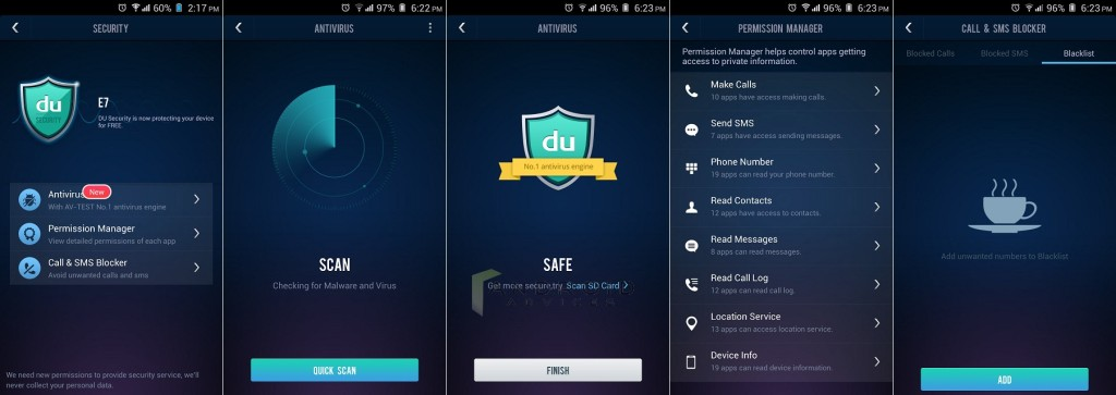 DU Speed Booster App Security