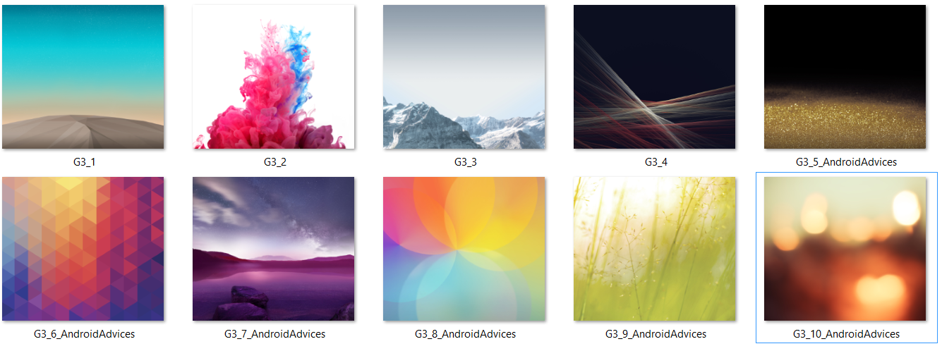 Download Stock Default Wallpapers Ringtones Of Lg G3 For Any