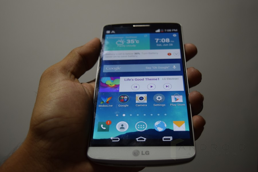 LG G3 Front Screen