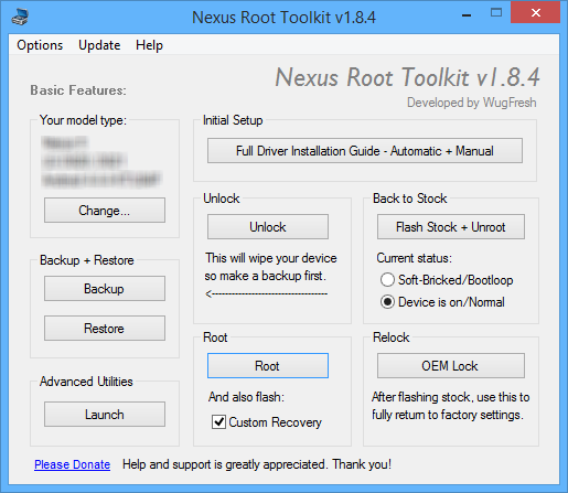 Nexus Toolkit