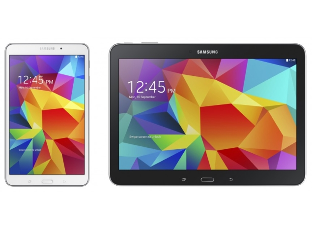 Samsung Galaxy Tab 4 8.0 and Tab 4 10.1