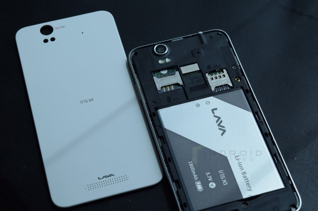 Lava Iris X1 Back Cover