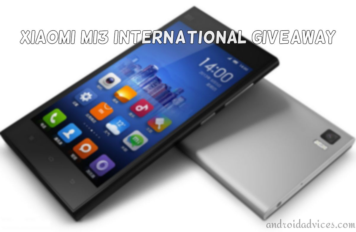 XiaoMi Mi3 International Giveaway