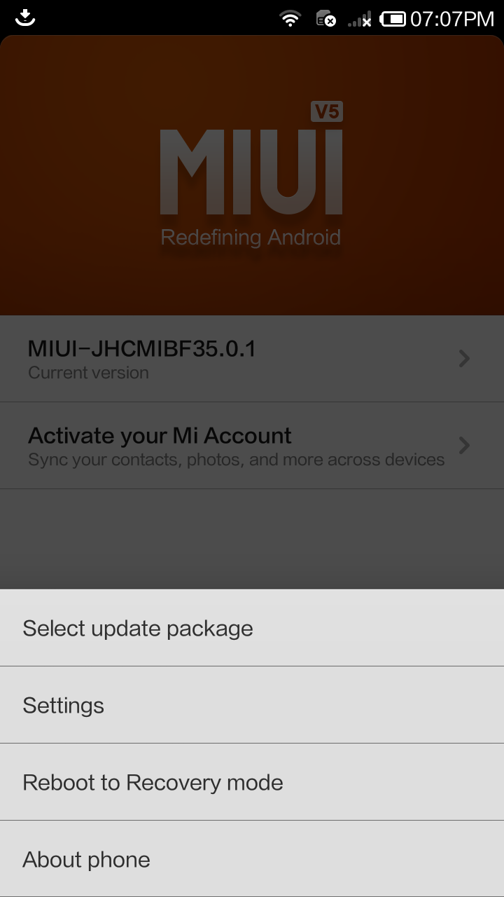 Launch updater app and reboot to recovery mode