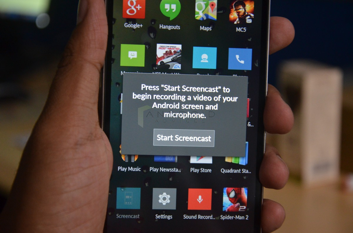 Screencast OnePlus One