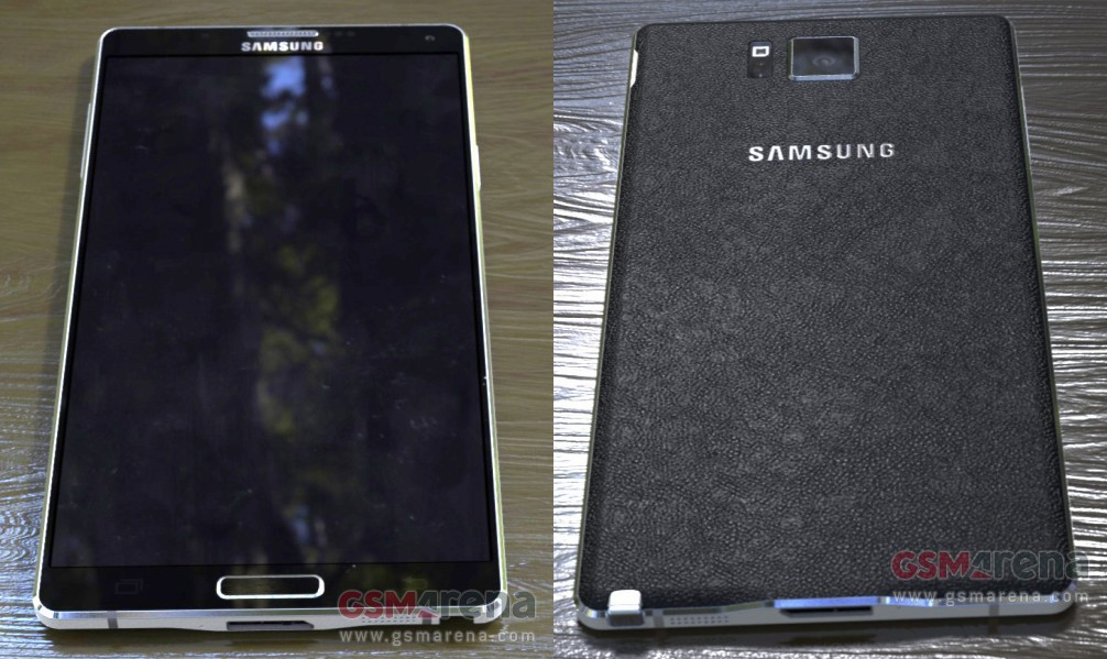 Samsung Note 4 images leaked