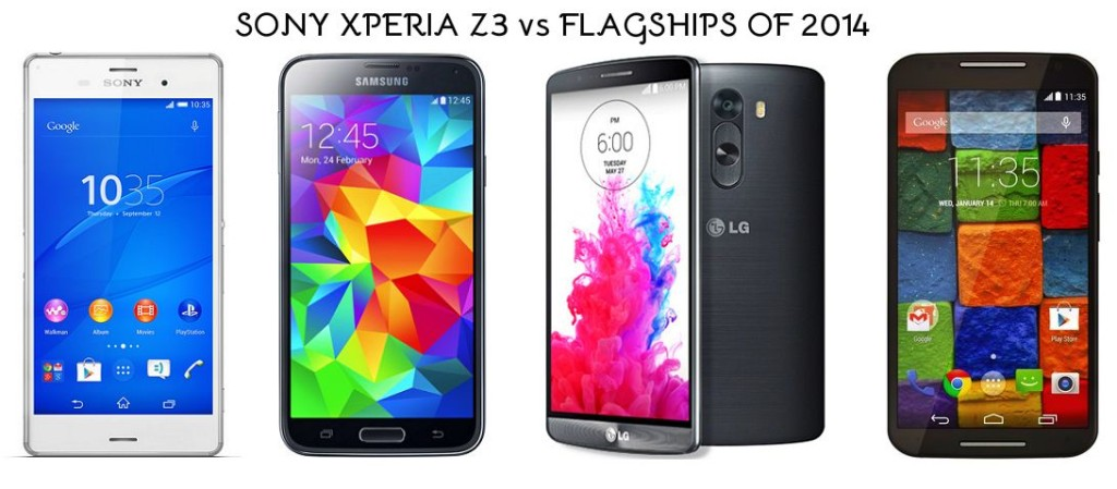 Sony Xperia Z3 Vs Flagships
