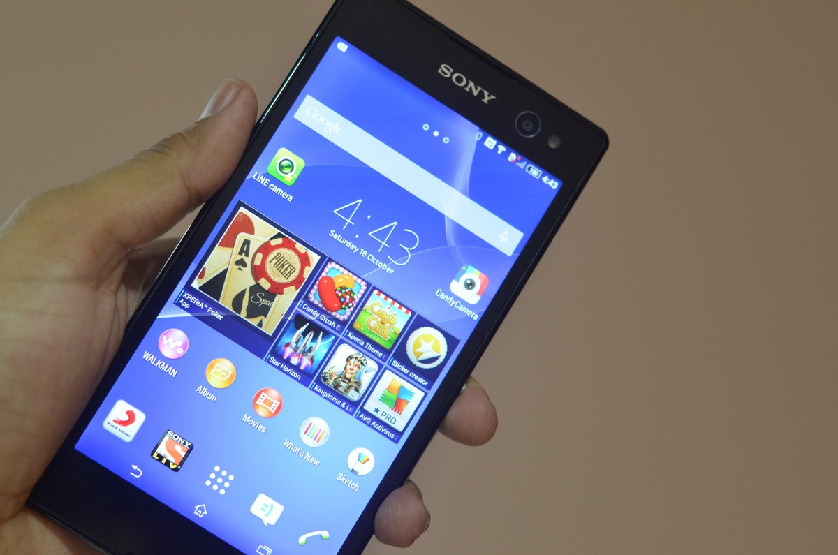 Sony xperia c3 smartphone hands on initial impressions android sony xperia c3 reheart Gallery