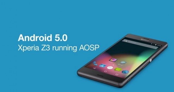 AOSP Lollipop 5.0 on Xperia Z