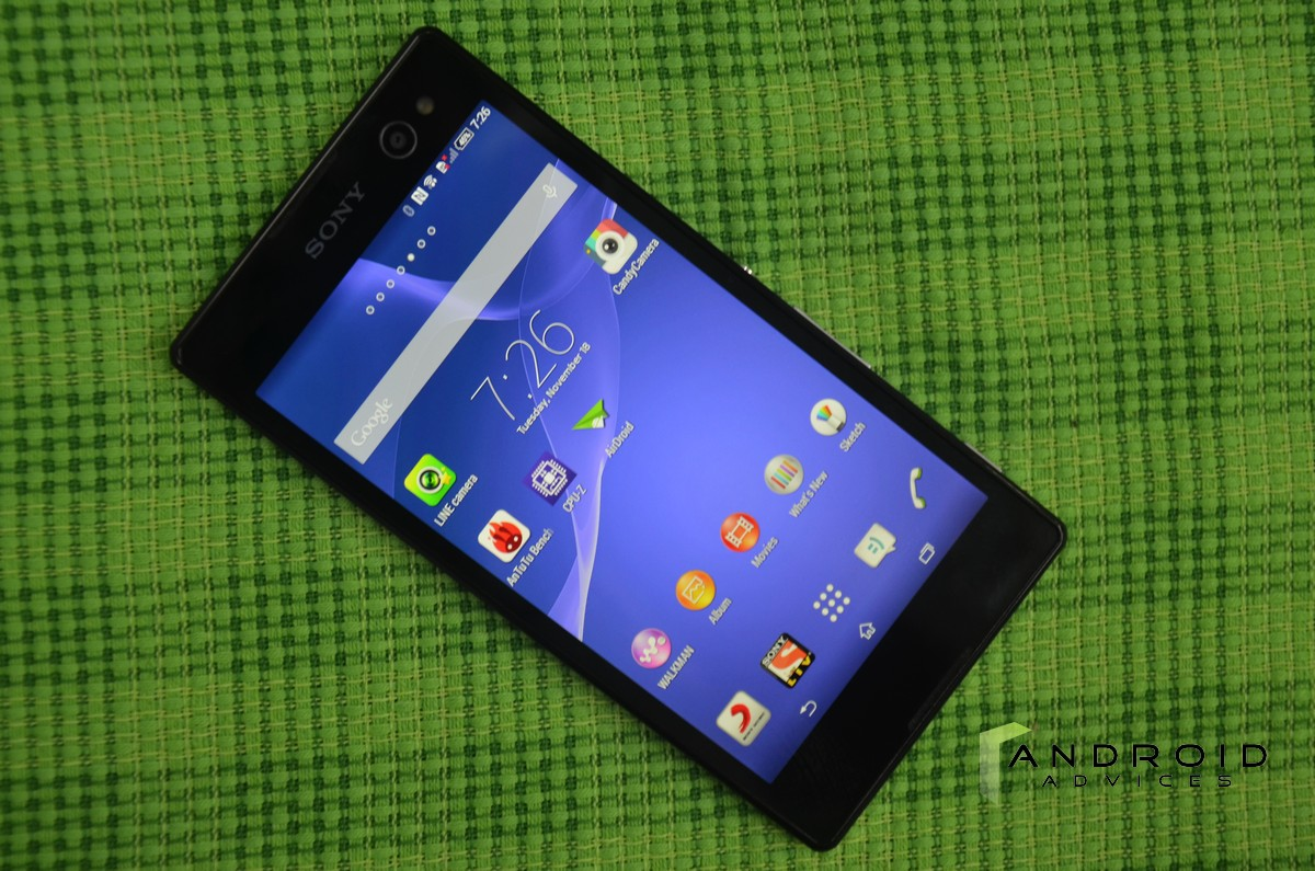 Sony xperia c3 smartphone review android advices sony xperia c3 reheart Gallery