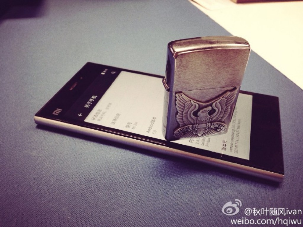 Xiaomi Mi3 running on lollipop