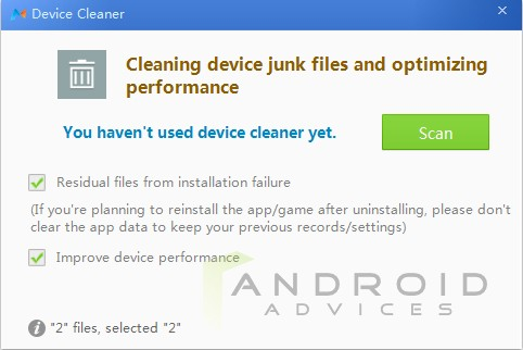 MoboRobo Windows Device Cleaner