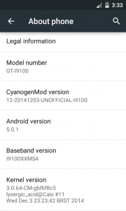 Galaxy S2 Lollipop 2