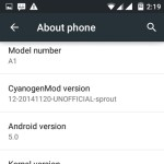 Screenshot 2015 01 30 14 19 01 150x150 - How to Install Android 5.0 Lollipop based CyanogenMod 12 ROM on Android One Device – Tutorial