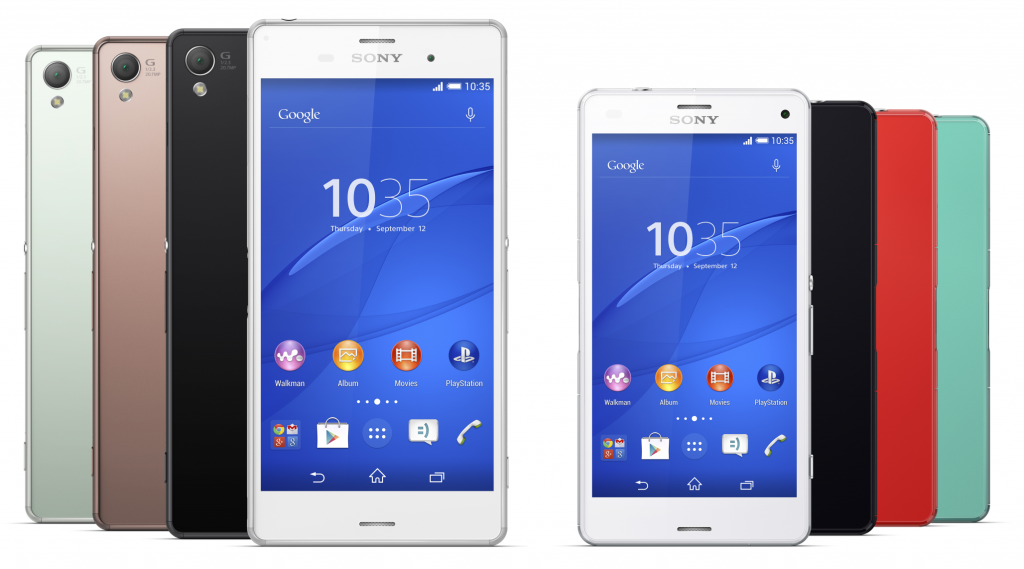 XPERIA Z3 and Z3 Compact