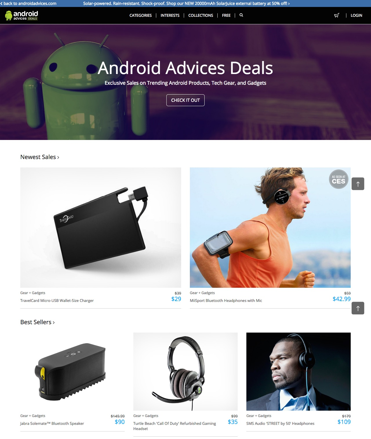 AndroidAdvices Deals