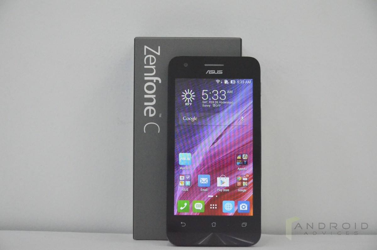 Asus Zenfone C hands on (1)
