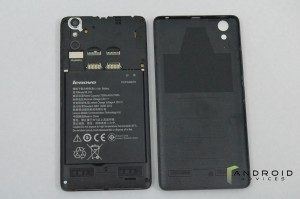 Lenovo A6000 - Opened Back