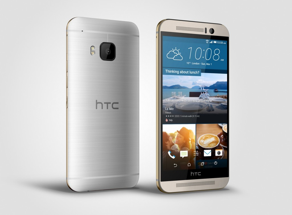 HTC One M9 - Front and Back