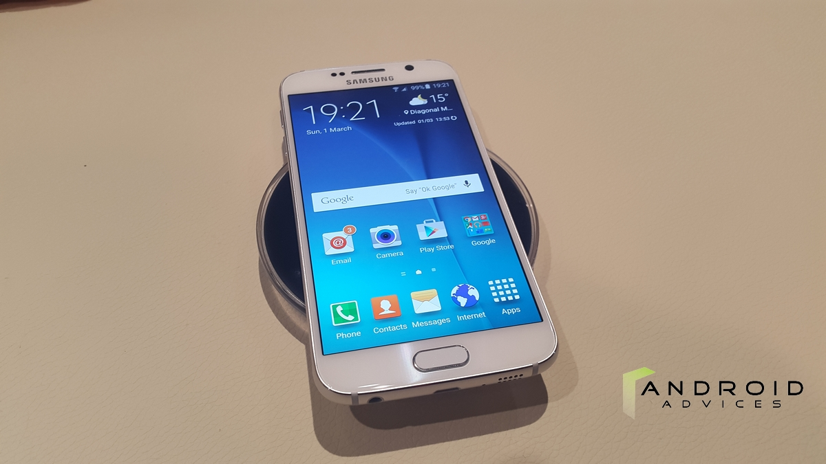 Samsung Galaxy S6 - Display