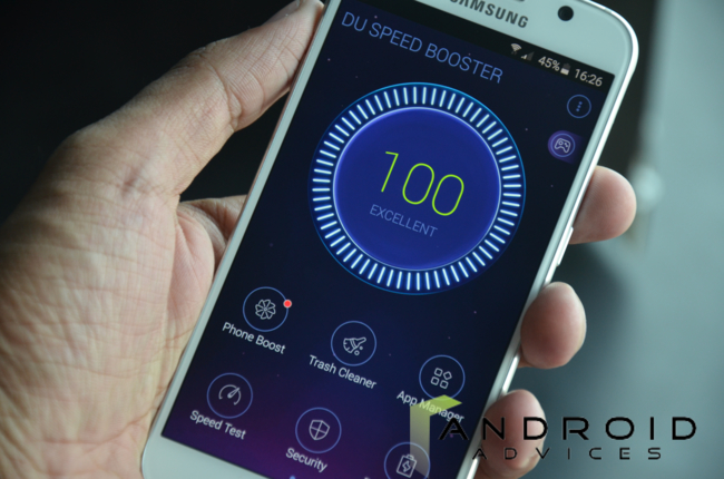 DU Speed Booster App for Android
