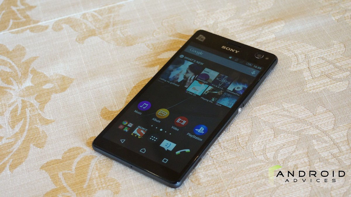 Sony Xperia C4 - Front