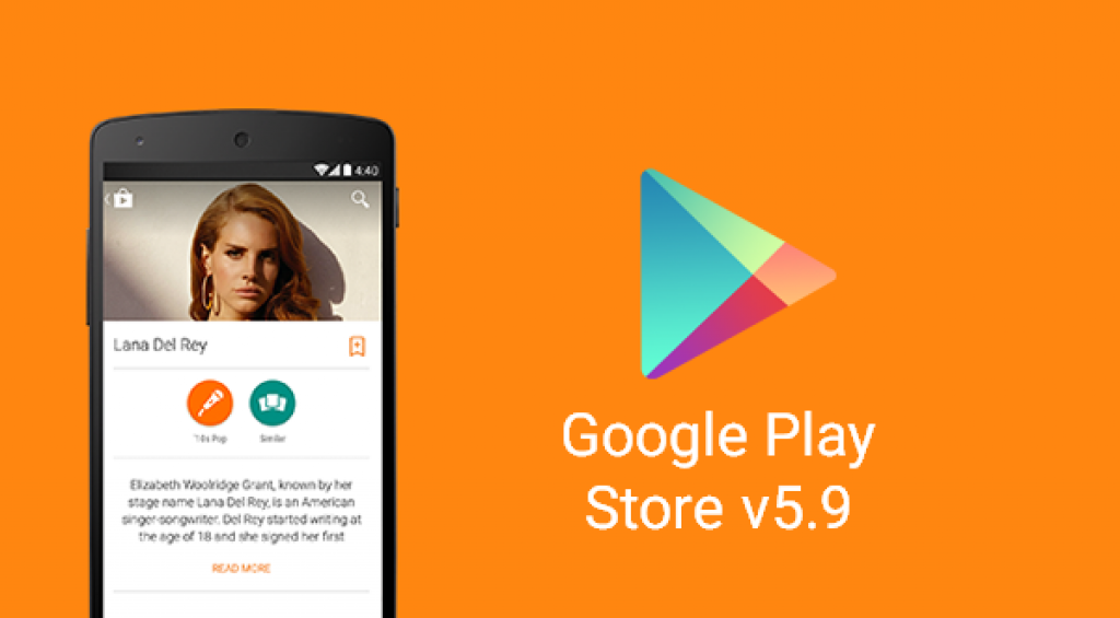 play store update new version