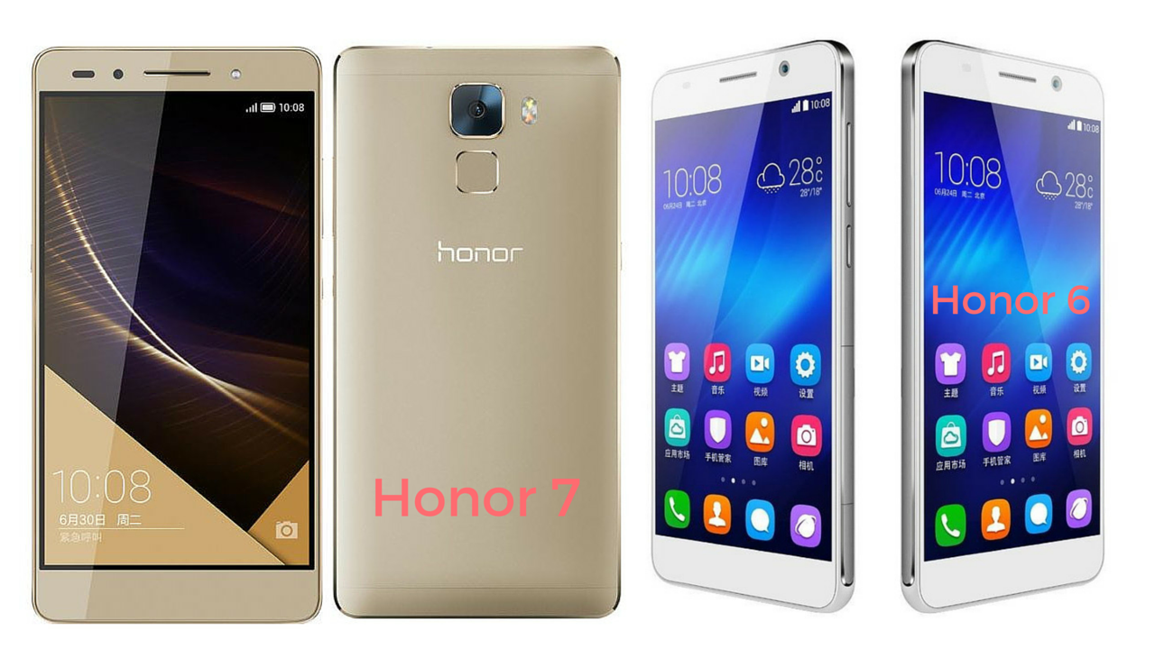 Honor 6 vs honor 7