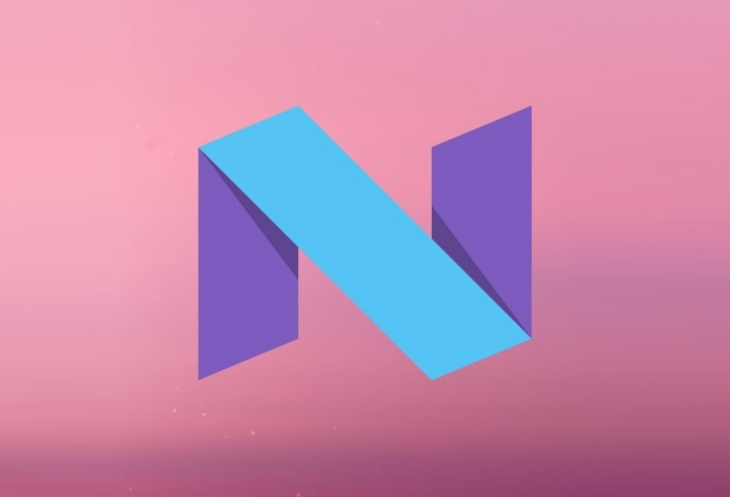 Android N Logo Banner