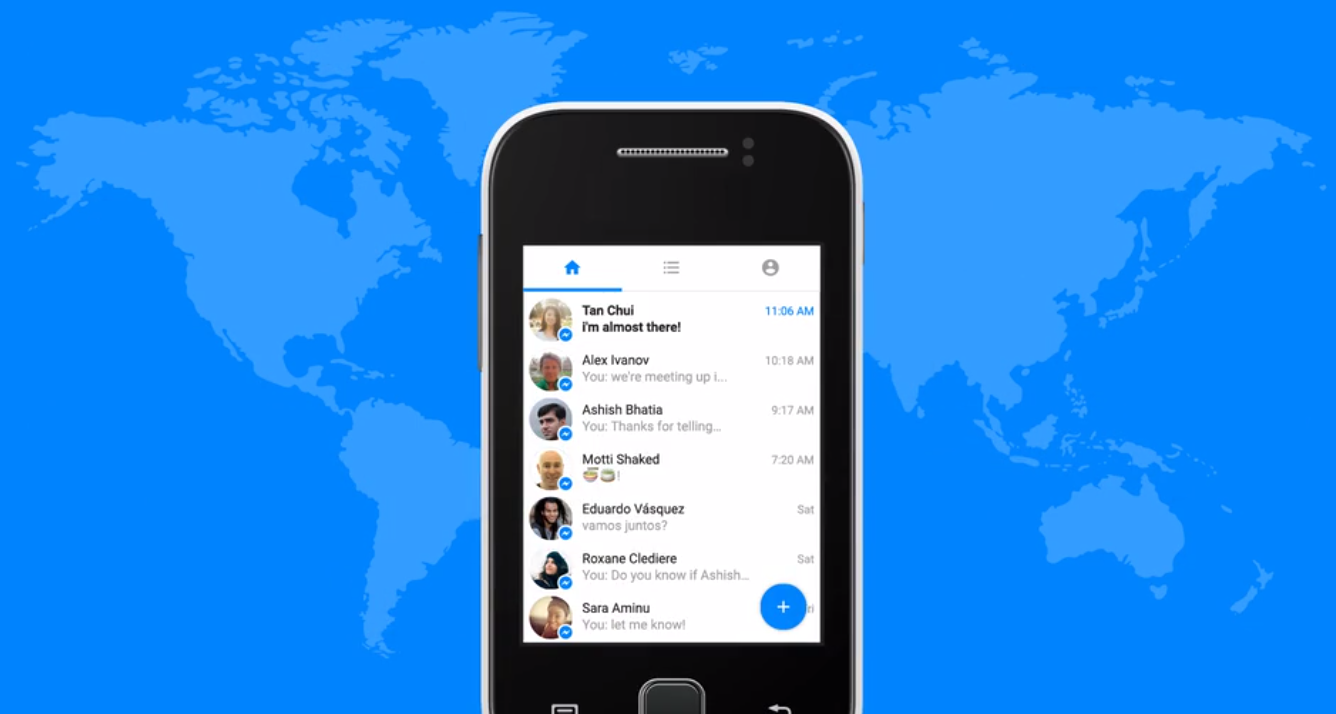 Facebook Launches Messenger Lite app for Android in ...