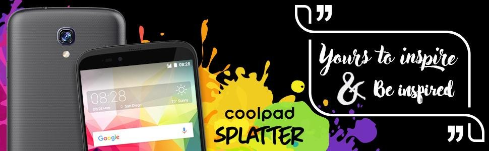 Coolpad Splatter Smartphone with Android 7.0 & 5.5″ HD Display Launched for $139.99