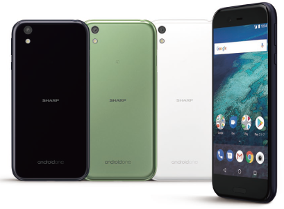 Google is back with Android One smartphone, Sharp X1 ...