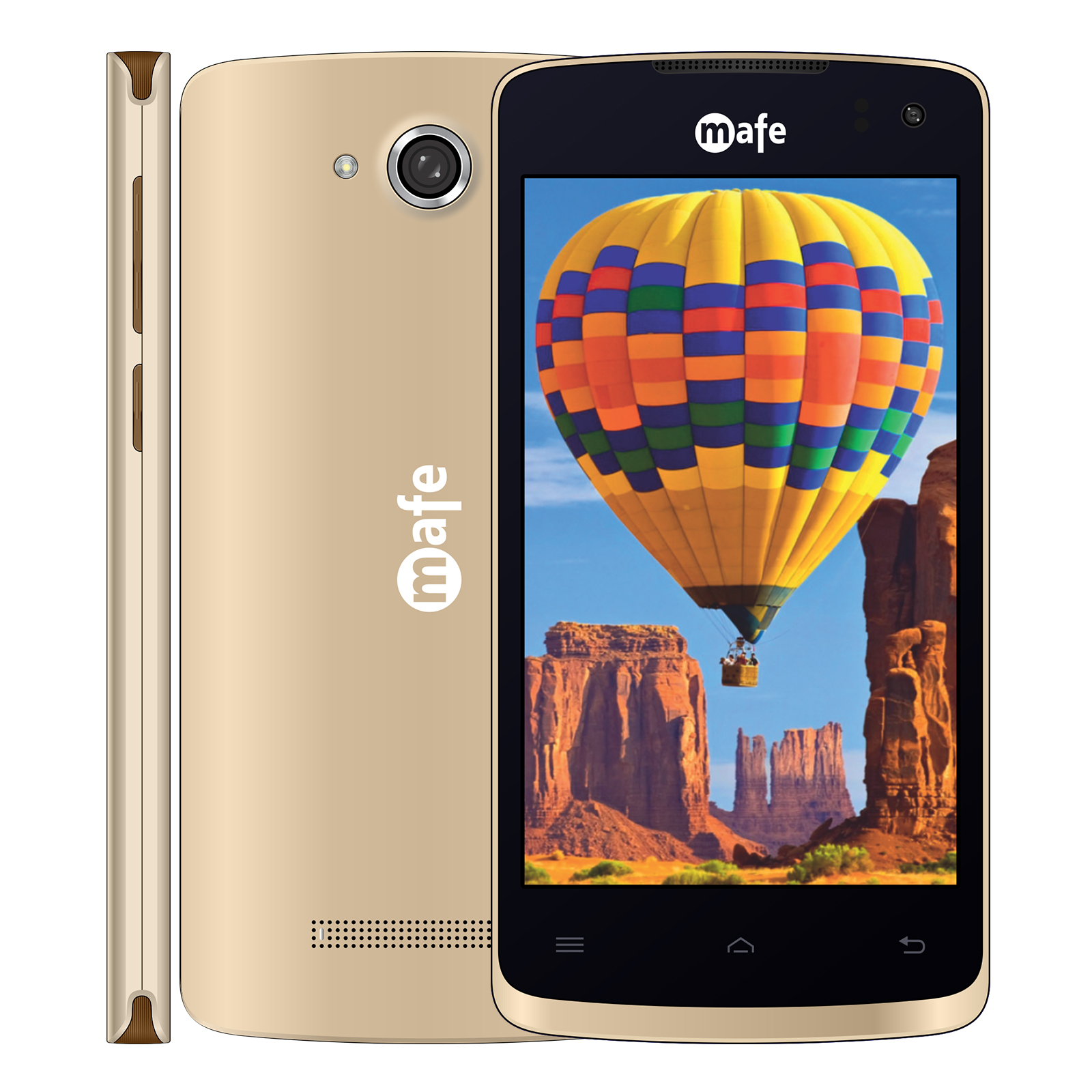 mafe air 4genabled smartphone with android 70 nougat