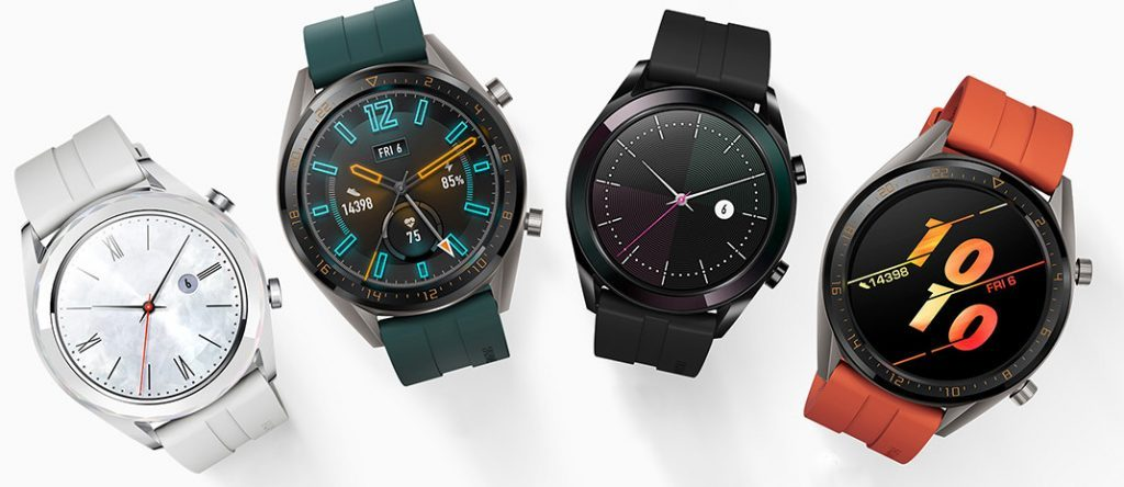 Huawei Announces Watch GT Active & Elegant Smartwatches with