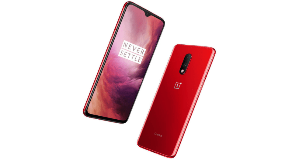 red oneplus 7 unveiled with 8gb ram 256gb storage. Black Bedroom Furniture Sets. Home Design Ideas